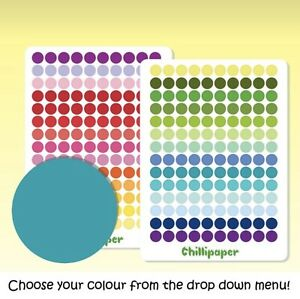 Mini Dots / Small Circle Stickers   Planner Stickers Bullet points #1043
