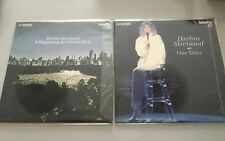 2 x Laser Discs -  Barbara Streisand - A Happening in Central Park + One Voice