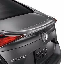 #565 PAINTED FACTORY STYLE LIP SPOILER  fits the 2016 - 2017 HONDA CIVIC 4DR