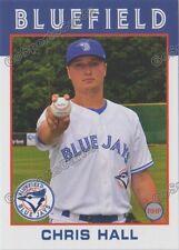 2016 Bluefield Blue Jays Chris Hall RC Rookie Toronto