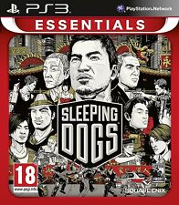 Sleeping Dogs (PS3 - PlayStation 3) *NEW & UNSEALED* Essentials