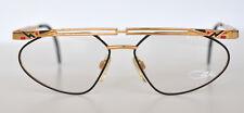 Cazal Vintage Eyeglasses - NOS-  Model 256- Col. 373- Gold & Black & Red
