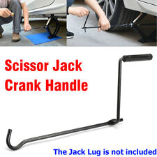 Car Garage Tire Wheel Lug Wrench Scissor Jack Crank Speed Handle Lift Tool