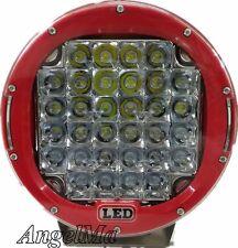 2x9 inch 259W CREE Round Spot LED Driving Light Offroad 4X4 Black Spotlight work