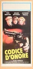 LOCANDINA, CODICE D'ONORE-Le choix des armes, CORNEAU, MONTAND, POLIZIESCO