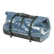 BMW LUGGAGE ROLL DUFFEL BAG 3 TAIL BAG / SEAT BAG BLUE 50 LITERS