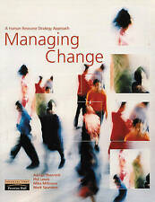 Managing Change: A Human Resource Strategy Approach by Thornhill, Adrian, Lewis