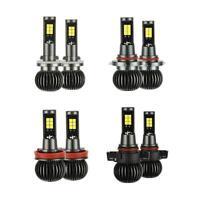 2x LED Light White Amber 880 881 9005 9006 H8 H11 5202 Truck Headlamp Bulbs N#S7