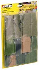 (17,18€/100g) NOCH 07071 Grasfaser-Sortiment, lang, 10 Sorten 6 - 12 mm lang