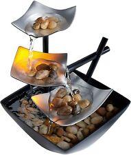 HoMedics WFL-SLVS Illuminated Relaxation Indoor Fountain