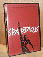 Spartacus (DVD, 2001, 2-Disc Set, Criterion Collection) Kirk douglas