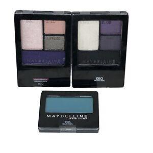 Maybelline Expert Wear Eyeshadow Quads, Amethyst Smokes / Luminous Lilacs / Teal