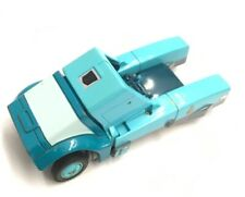 Kup Vintage Transformers 1986 G1 No Weapon Teal Truck Action Figure