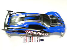 NEW TRAXXAS 1/7 XO-1 100MPH 4WD SUPERCAR Body Factory Painted GRAPHIX BLUE RO6B