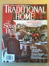 Traditional Home Nov/Dec 2013 FREE SHIPPING, 40 Gifts You Will Love To Give!