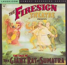 FIRESIGN THEATRE - 2 CD Set - THE GIANT RAT OF SUMATRA - EAT OR BE EATEN - NEW