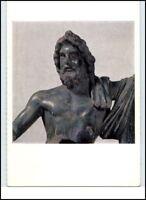 Künstlerkarte Motiv: Skulptur Bildnis von Jupiter alte Postkarte
