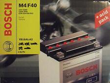 Bosch M4 F40 Motorradbatterie Batterie 16AH Ducati Yamaha YB16-AL-A2 0092M40400