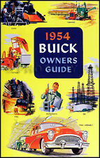 1954 Buick Owners Manual 54 Special Roadmaster Century Skylark Super Owner Guide