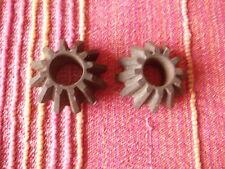 2 X INGRANAGGI DIFFERENZIALE COPPIA CONICA ALFA ROMEO 1900 C TI BEVEL GEAR