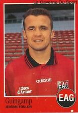 N°080 JEROME FOULON # FRANCE EN AVANT GUINGAMP EAG STICKER FOOT 97 PANINI