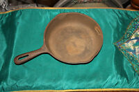 """Wagner Ware 9"""" Cast Iron Skillet-Wagner #5-Aged Pan-USA Made-Country Decor"""