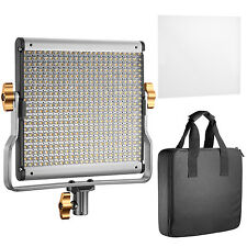 Neewer 480 LED Lampadine Video Light Bi-colore Regolabile Staffa U Kit Studio