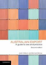 Australian Export: A Guide To Law And Practice: By Justin Malbon, Bernard Bishop