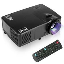 Pyle HD 1080p DLP Multimedia Projector, 3D Video Support, Display Up to 300''