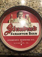 Standard Scranton Beer Vintage Tray