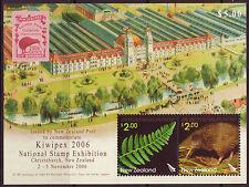 NEW ZEALAND 2006 KIWIPEX MINIATURE SHEET FINE USED