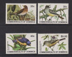 Dominica - 1981, Vögel Set - MNH - Sg 742/5
