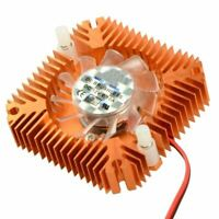 55mm 2 PIN Graphics Cards Cooling Fan Aluminum Gold Heatsink Cooler Fit For Pers