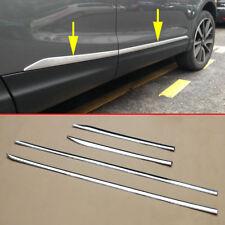 fit Nissan Rogue Sport Qashqai J11 Chrome Body Side Door Molding Line Cover Trim
