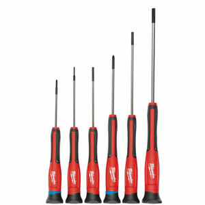 Milwaukee 48-22-2606 6pc Precision Screwdriver Set w/Case New