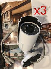 "3sets 1/3"" 420TVL SONY CCD Weatherproof Outdoor CCTV Camera IR Color, 3.6mm lens"