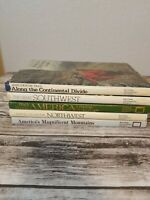 Lot of 5 National Geographic Society Hardcover Books Southwest, Northwest, Cont