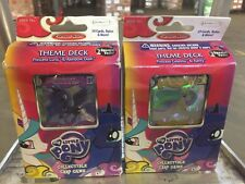My Little Pony Canterlot Nights Set Of Both Theme Decks For Card Game CCG TCG
