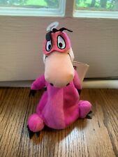 "Flintstones Dino Warner Brothers Studio Store Bean Bag Plush Toy 8"" VTG"