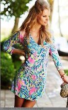 NWOT LILLY PULITZER WOMEN'S ROSSMORE V-NECK T-SHIRT DRESS Size Xs