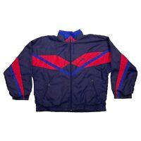 Nike Tracksuit Top Jacket | Vintage 90s Retro Sportswear Purple Pink XL VTG