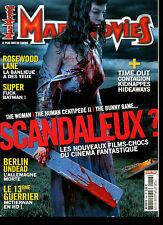 Cinéma Bis - Revue Mad Movies 246 - décembre 2011