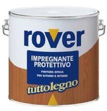 Impregnante Protettivo Opaco Tuttolegno Rover 750 ml _ Noce Scuro