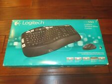 Logitech MK550 Wireless Wave Keyboard and Mouse Combo NEW FACTORY SEALED