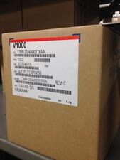 Yaskawa 7.5HP 11.1 Amps V1000 VFD CIMR-VU4A0011FAA Variable Frequency Drive NIB