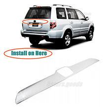Accessory Chrome Rear Trunk Molding Cover Trim For 2003-2008 Honda Pilot SUV