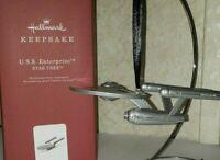 2018 Hallmark Keepsake Star Trek USS Enterprise Ornament NIB