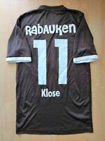 St Pauli Klose #11DoYouFootball Football Jersey S Small Trikot Rabauken