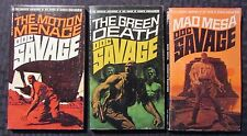 1971/72 DOC SAVAGE #64 65 66 VG+/FN 2nd/2nd/1st Bantam Paperback LOT of 3