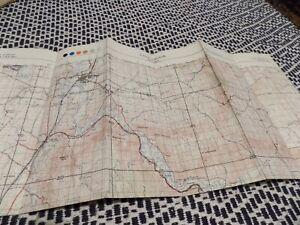 Map Tallarook area, Victoria, Australia 1955
